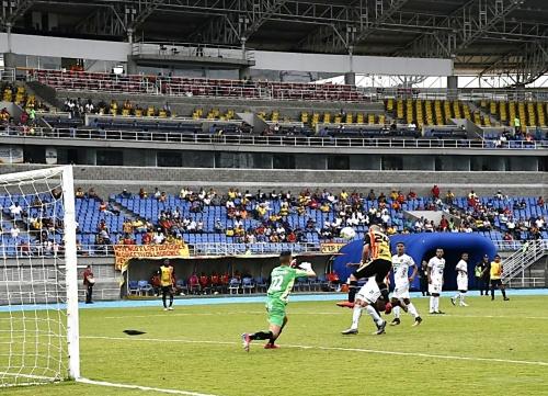 Poco público en el Hernán Ramírez Villegas para esta primera cita de la  Copa Colombia 17ba4b0129119